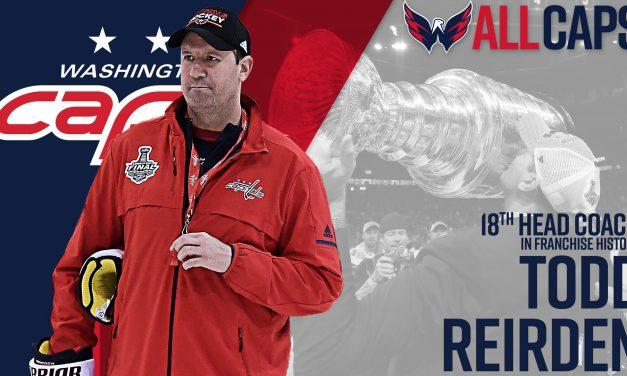 Todd Reirden Named Caps Coach